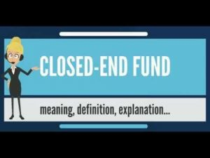 what are closed ended funds