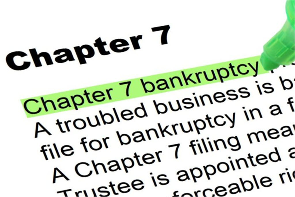Chapter 7 bankruptcy image text
