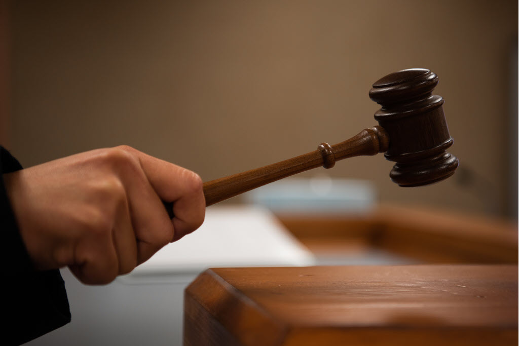 judge with gavel bankruptcy